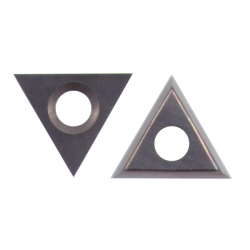Triangular Carbide Inserts (22 mm sides)